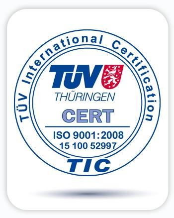 Zertifizierung nach ISO